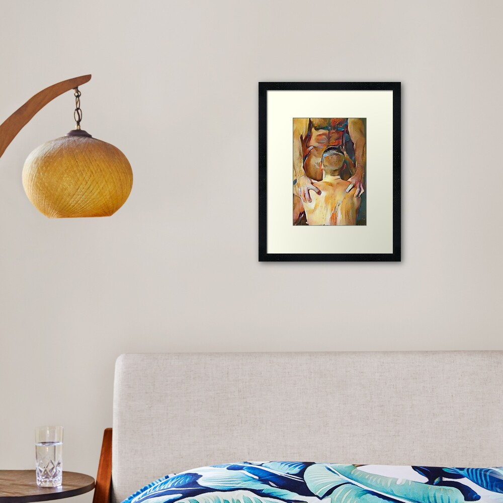 Right There, Boy Framed Art Print