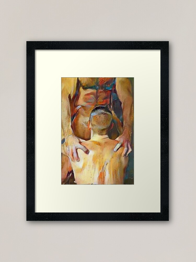 Alternate view of Right There, Boy Framed Art Print