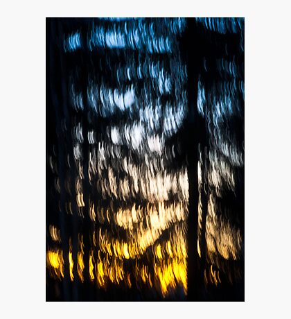A Waterfall of Light Photographic Print