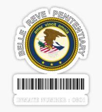 Belle Reve Penitentiary Sticker