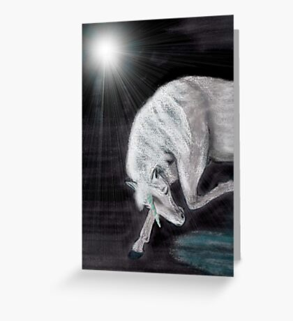 Moonwatcher Greeting Card