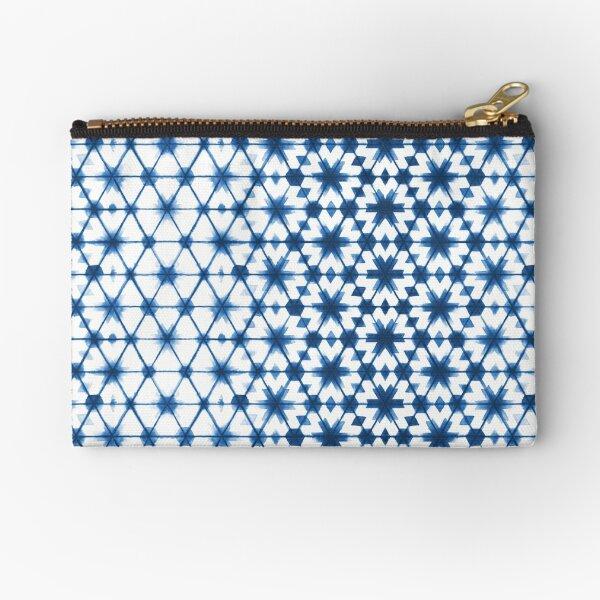 Shibori via Morocco Zipper Pouch