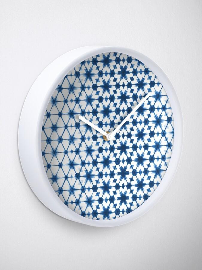 Alternate view of Shibori via Morocco Clock