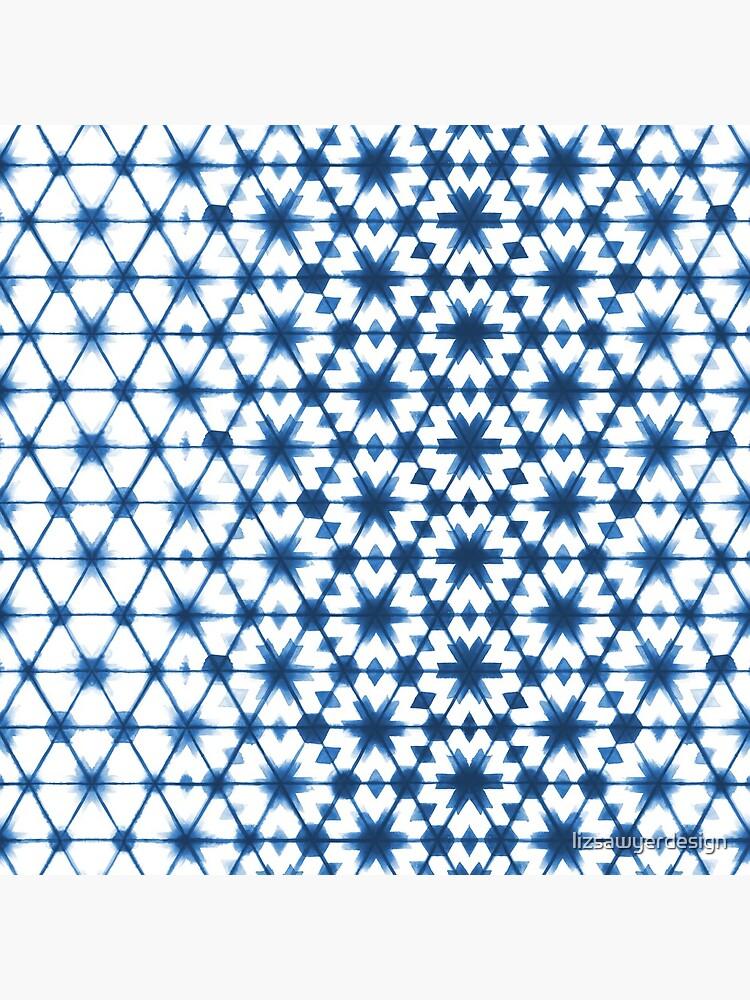 Shibori via Morocco by lizsawyerdesign