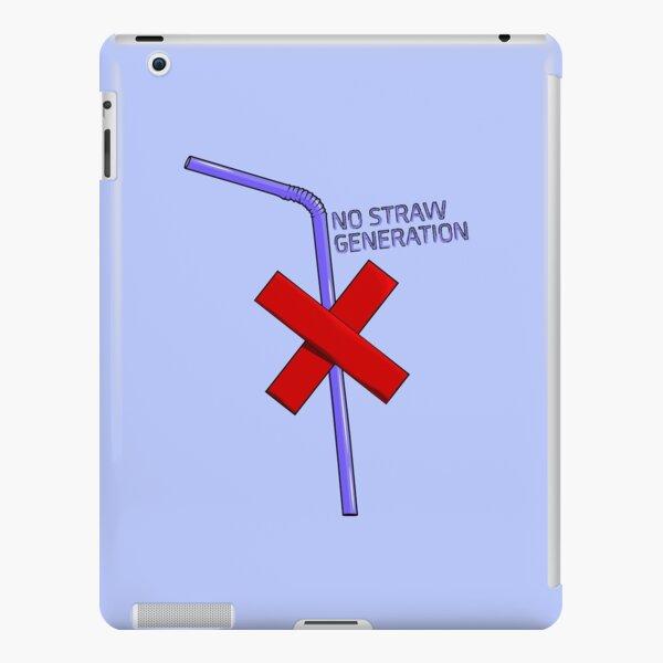 Keine Strohbildung - Bunt iPad – Leichte Hülle