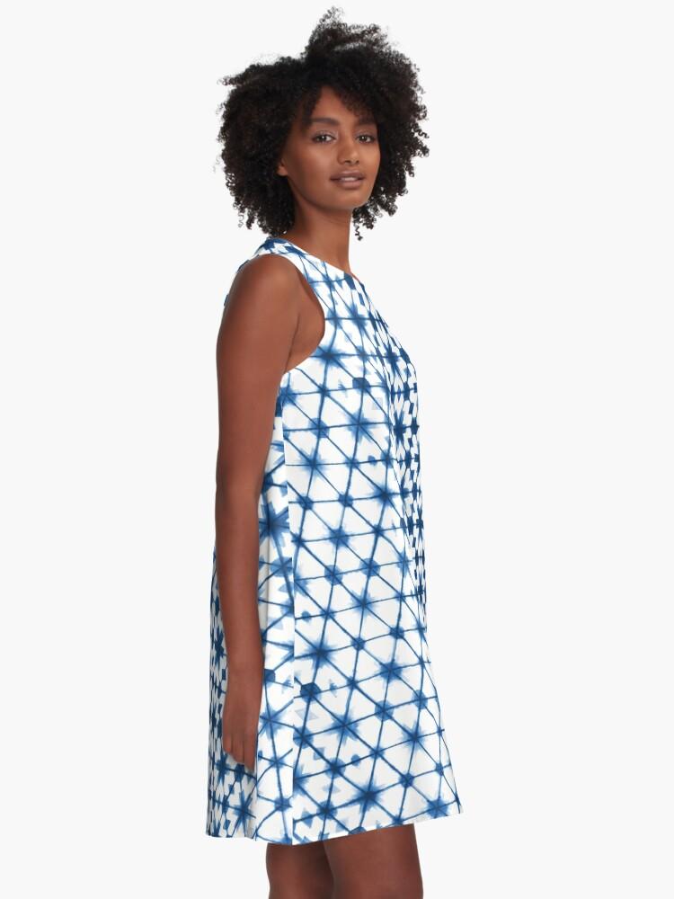 Alternate view of Shibori via Morocco A-Line Dress