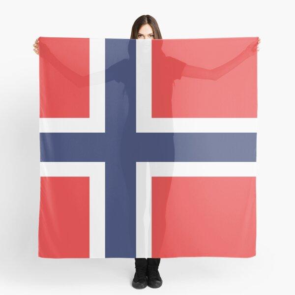 Norwegian Flag Scarf