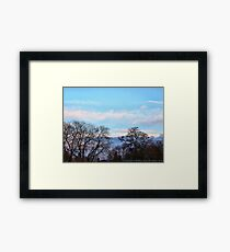 November Sky in Kalispell - South Framed Print