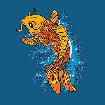 Koi Goldfish by newimagedepot