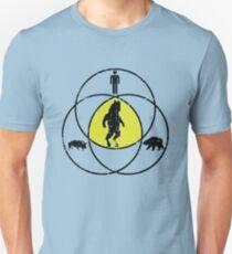 Man Bear Pig Venn Diagram Unisex T-Shirt