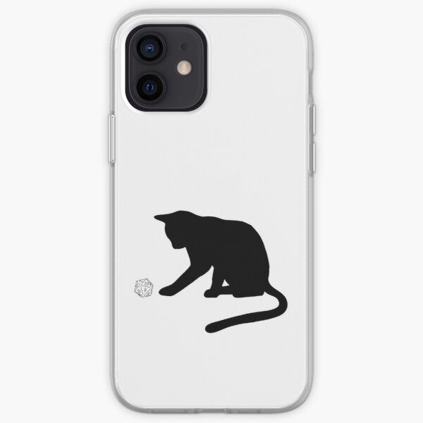 D20 Cat iPhone Soft Case