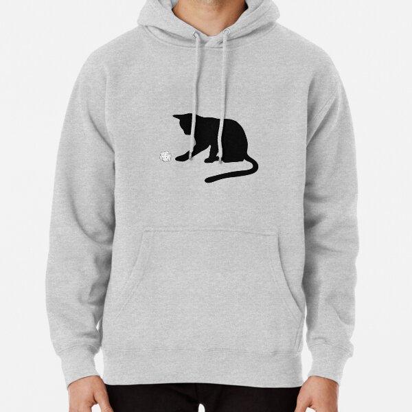 D20 Cat Pullover Hoodie