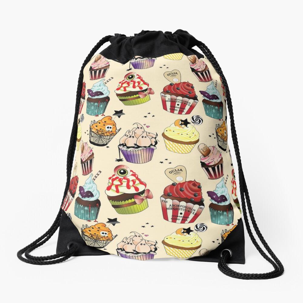 Halloween Bakery Drawstring Bag