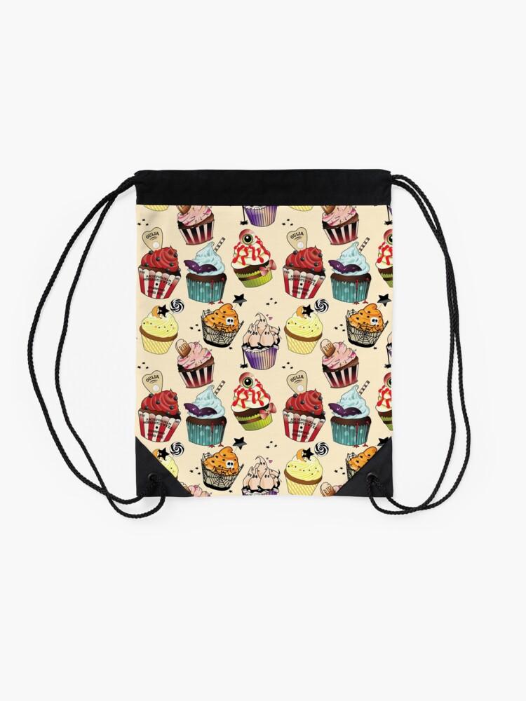 Alternate view of Halloween Bakery Drawstring Bag