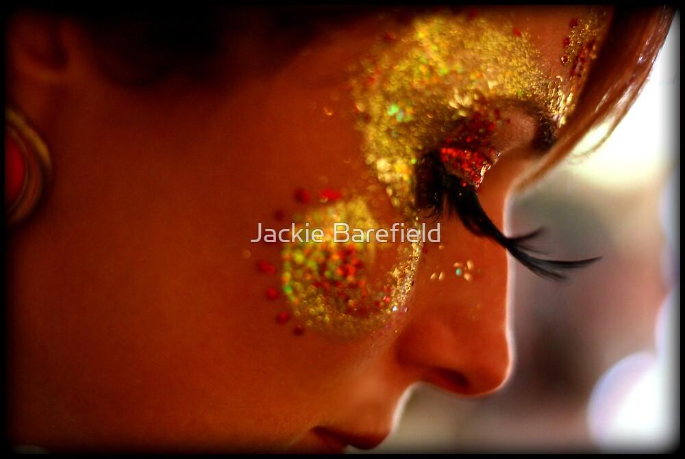 Portrait, Facepaint, Eyelashes by Jackie Barefield