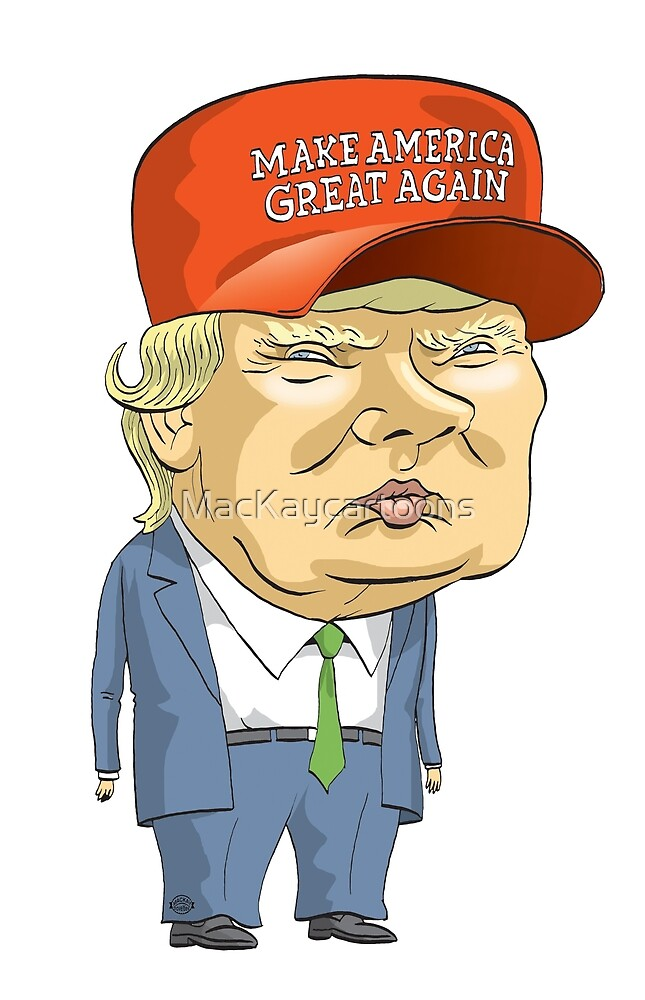 Donald Trump by MacKaycartoons