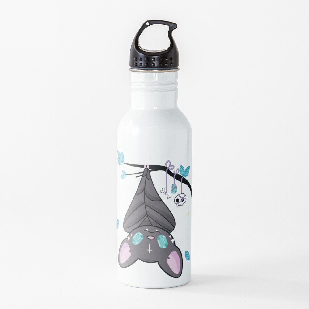 Sparkly Bat Water Bottle