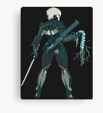 Raiden Vector Art - Metal Gear Solid/Rising Canvas Print