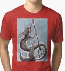 Grey Scale Tri-blend T-Shirt