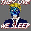 Sie leben, wir schlafen von American  Artist