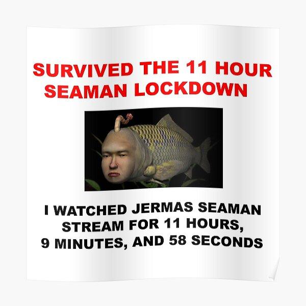 11 horas de cierre de marinero Póster