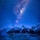 Tasman Lake New Zealand by Adrian Alford Photography