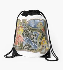 welcome home Drawstring Bag