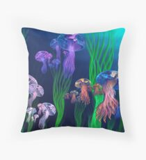 Apo Jelly Armada Throw Pillow