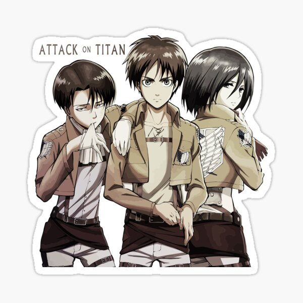 Attack on Titan  Sticker