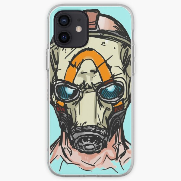 Borderlands 3 Psycho Mask iPhone Soft Case