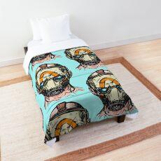 Borderlands 3 Psycho Mask Comforter