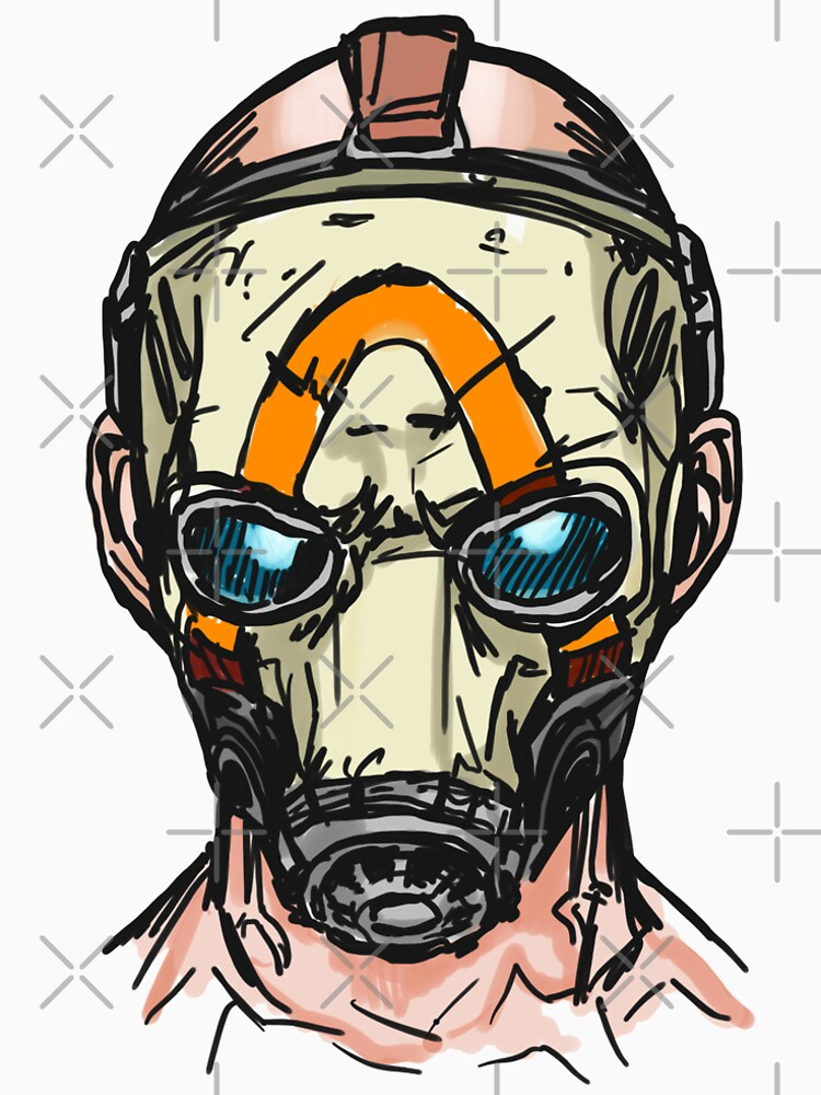 Borderlands 3 Psycho Mask by sketchNkustom