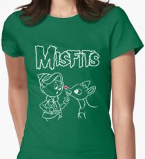Misfits Womens Fitted T-Shirt