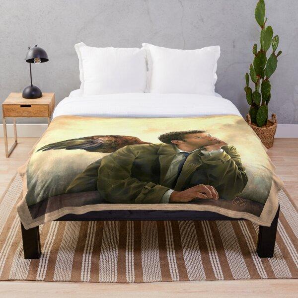 Castiel Renaissance style Throw Blanket