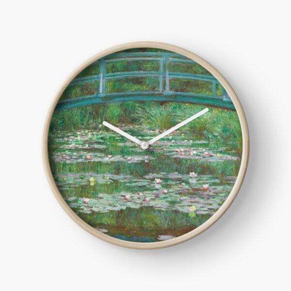 Japanese Bridge - Claude Monet Clock