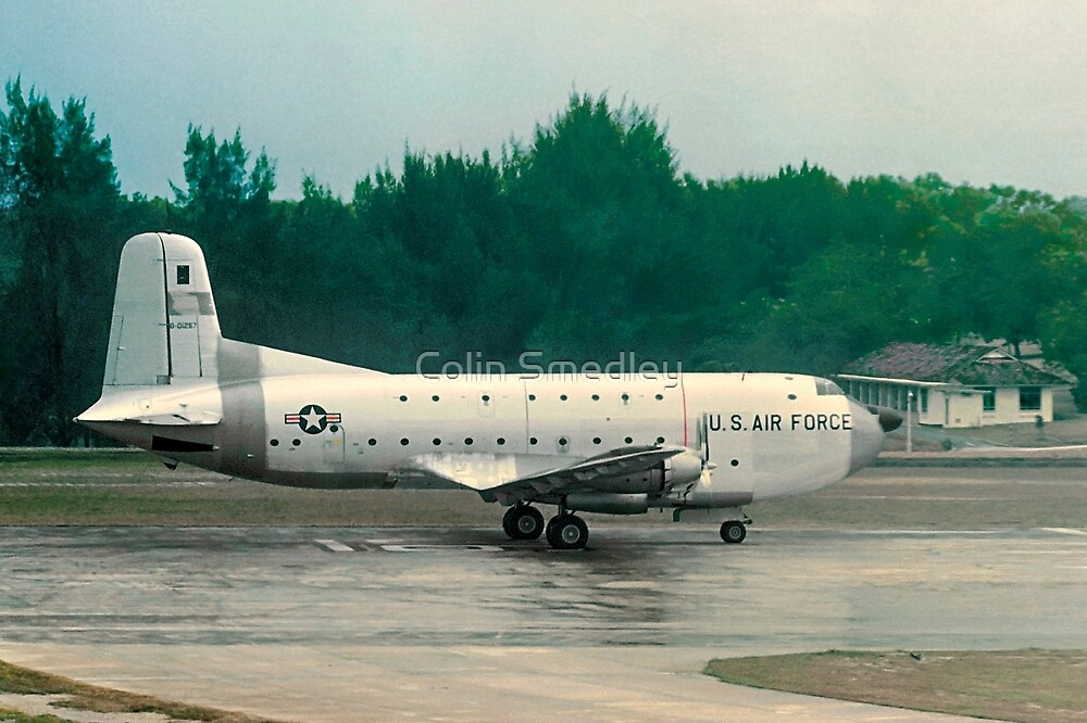 Douglas C-124A Globemaster II 50-1257 by Colin Smedley