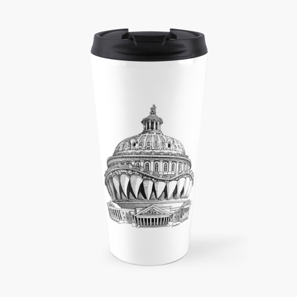 Angry Washington Travel Mug