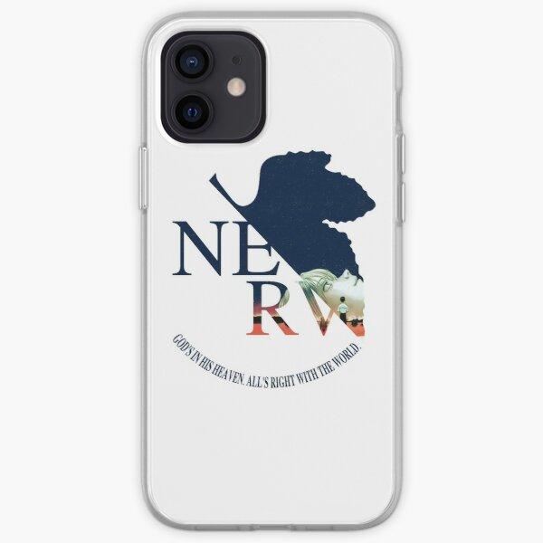 NERV End of Evangelion  iPhone Soft Case