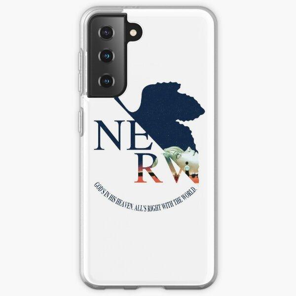 NERV End of Evangelion  Samsung Galaxy Soft Case