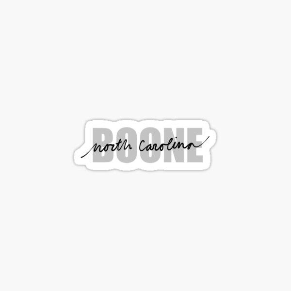 Boone North Carolina Sticker