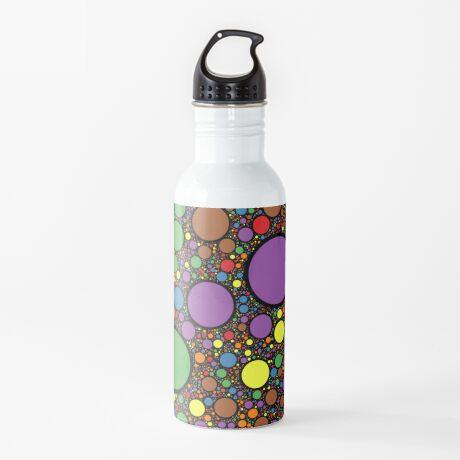 Circle Packing 214 Water Bottle