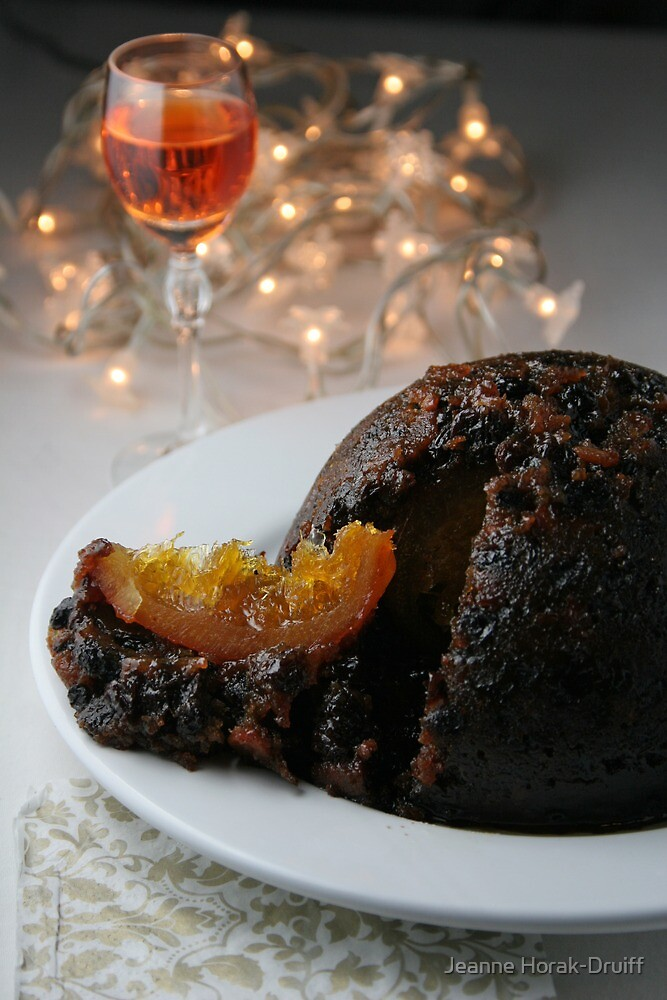 Christmas Pudding by Jeanne Horak-Druiff