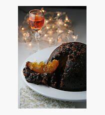 Christmas Pudding Photographic Print