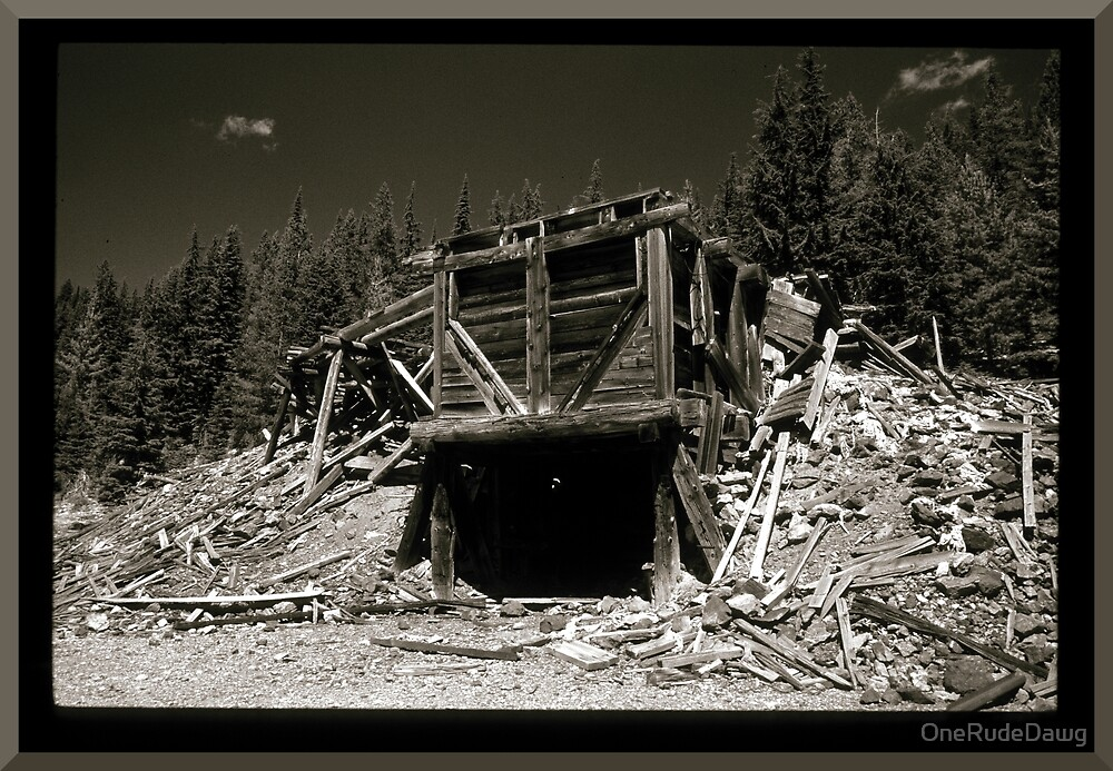 Abandoned Mine Structure by OneRudeDawg