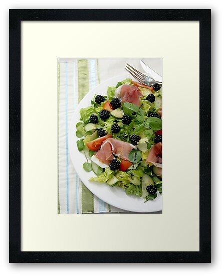 Blackberry Prosciutto Salad by Jeanne Horak-Druiff