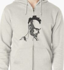 Taxi Driver Zipped Hoodie