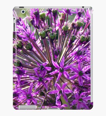 Allium aflatunense so intense iPad Case/Skin