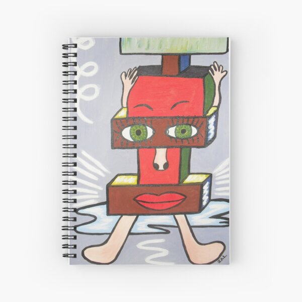 Under Pressure Spiral Notebook