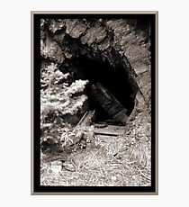 Abandoned Mine Shaft Photographic Print