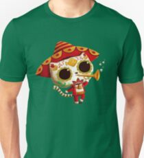 The Day of the Dead Cute Cat El Mariachi Unisex T-Shirt